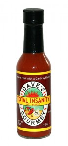 Daves Total Insanity Hot Sauce