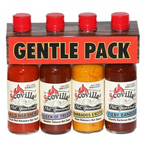 Scovillas Hot Gourmet Gentle 4-pack